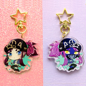 Load image into Gallery viewer, K/DA Akali Keychain