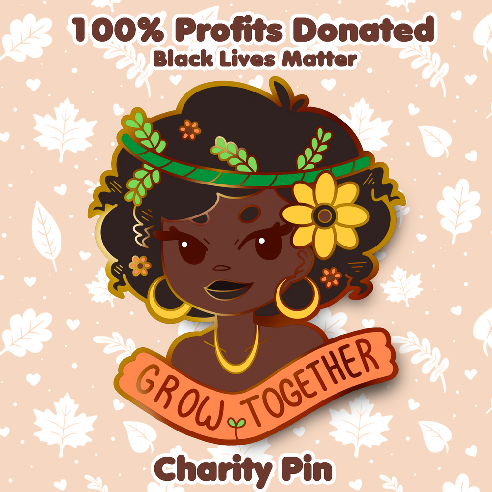 BLACK LIVES MATTER PIN (CHARITY)