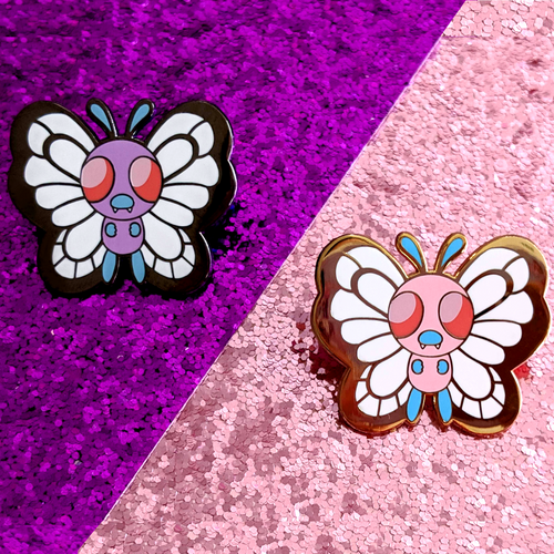 Butterfree Enamel Pins