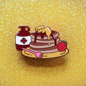 Load image into Gallery viewer, Buttery Maple Pupcakes Enamel Pin