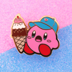 DAD HAT KIRBY PIN
