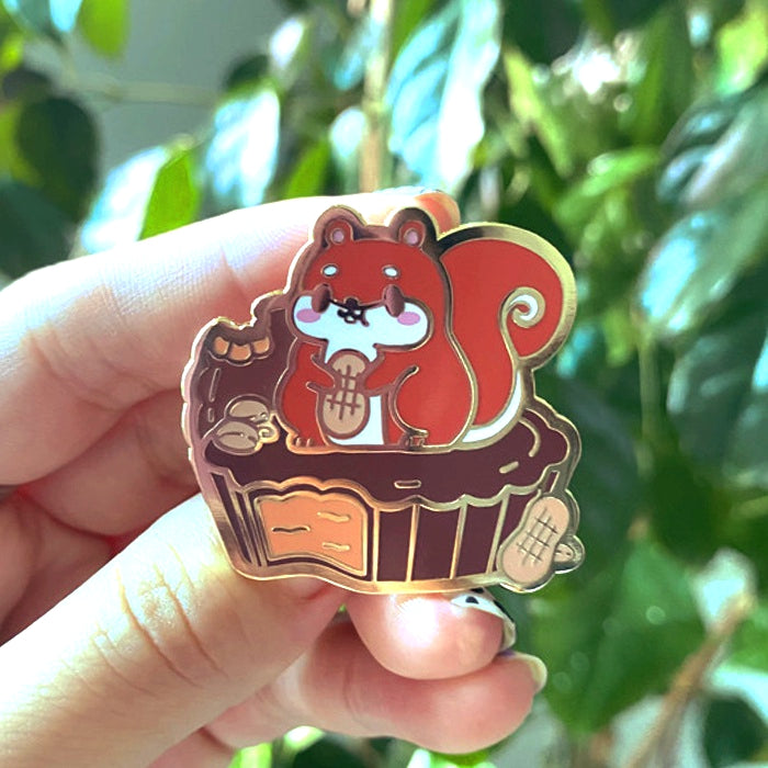 NUTTY PEANUT BUTTER CUP PIN