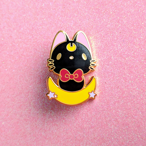 Load image into Gallery viewer, Luna Enamel Pin