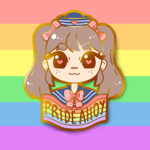 Load image into Gallery viewer, PRIDE AHOY PIN