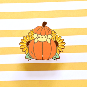Load image into Gallery viewer, Pupkin Enamel Pin