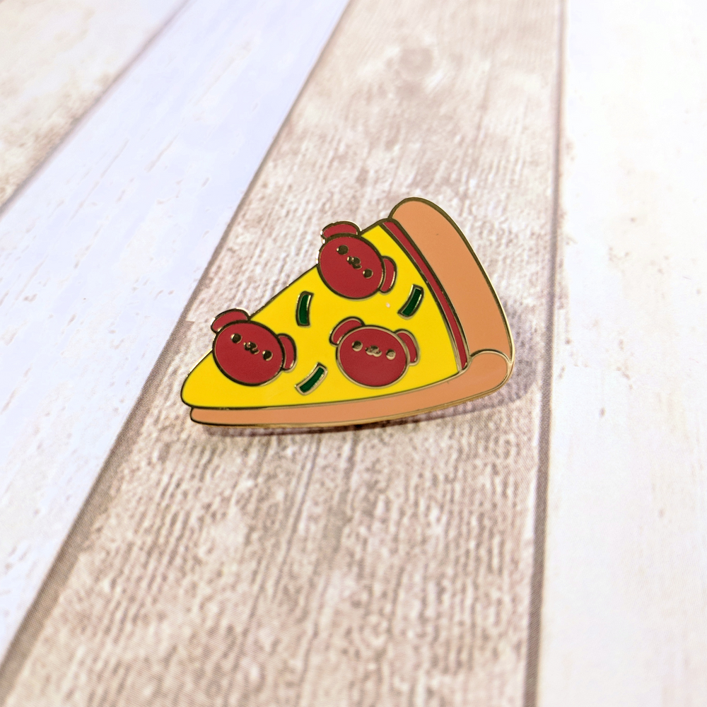 Load image into Gallery viewer, Pupperoni Pizza Pin
