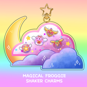 Magical Froggie Shaker Charm