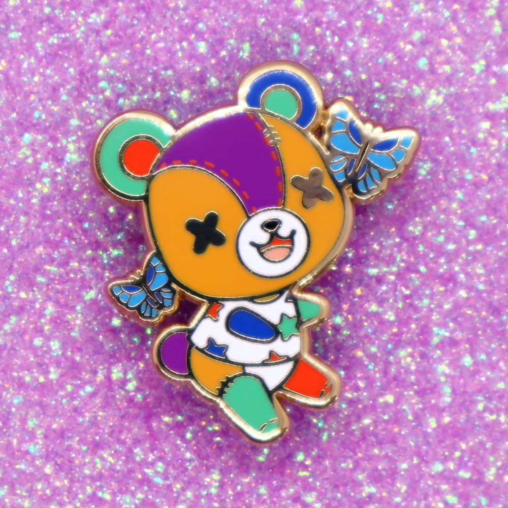 Stitches Pin