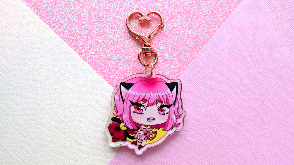 Load image into Gallery viewer, Ichigo Keychain