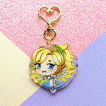 Winged Victory Mercy Keychain
