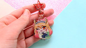 Load image into Gallery viewer, Tohru Dragon Maid Keychain