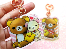Load image into Gallery viewer, Rilakkuma & Friends Keychain