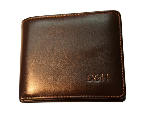 The Brooklyn Bifold Wallet (Dark Brown)