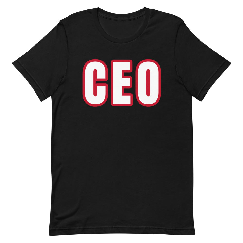 CEO Short-Sleeve Unisex T-Shirt (Various Colors)
