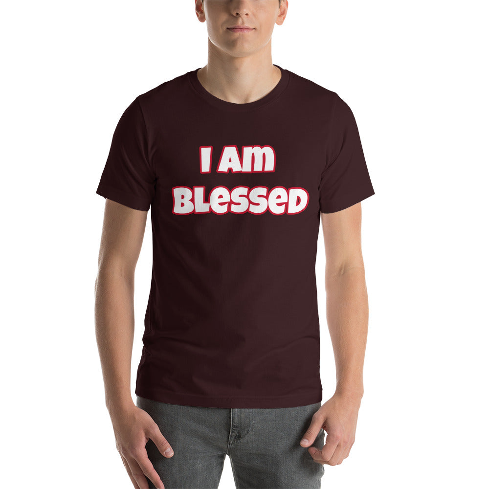 I am Blessed Short-Sleeve Unisex T-Shirt (Various Colors)
