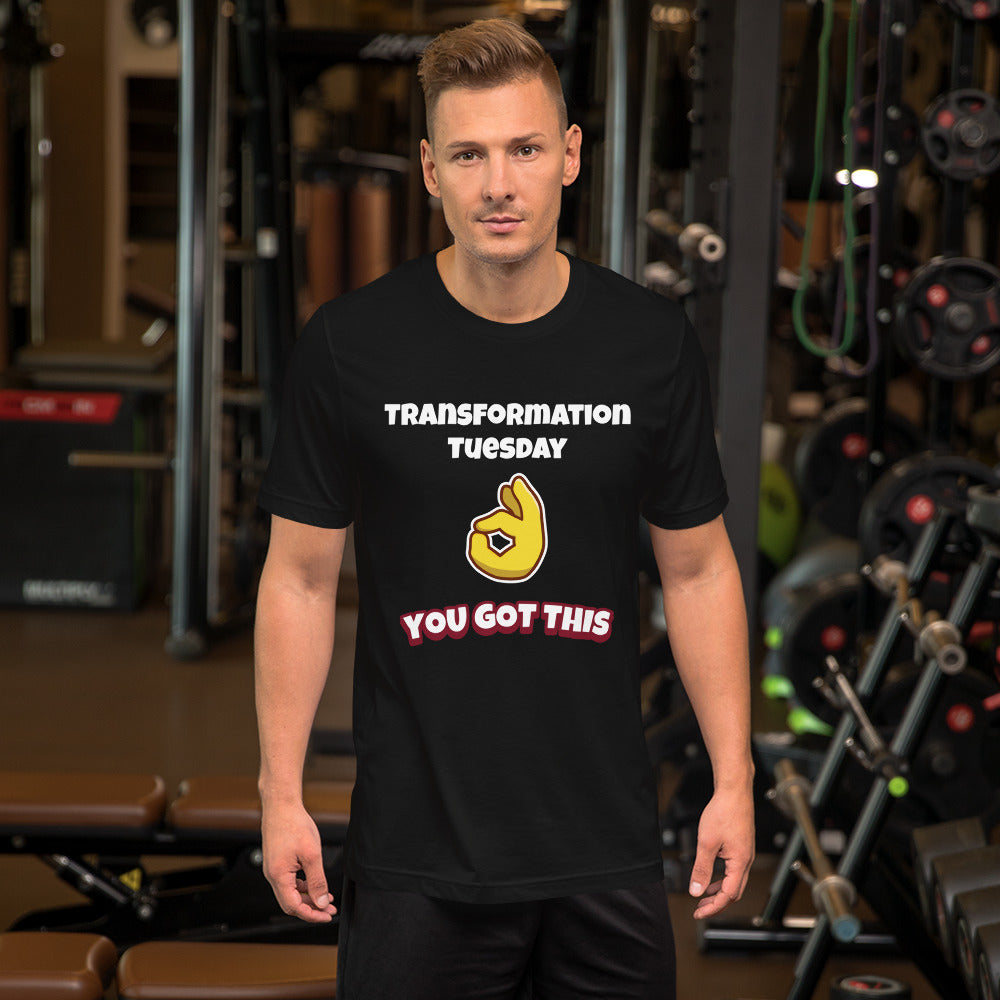 Transformation Tuesday Short-Sleeve Unisex T-Shirt