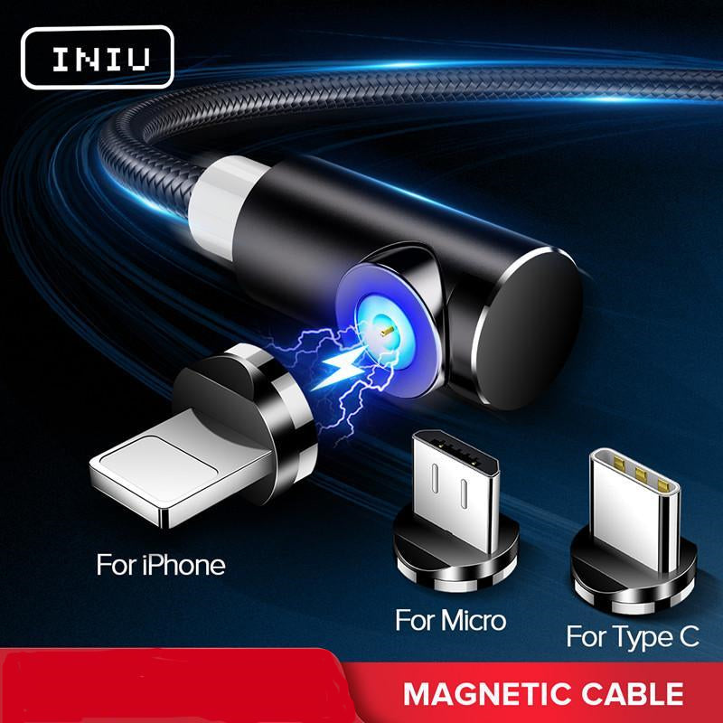 Fast Magnetic Cable Charger Cord for Android And iPhone