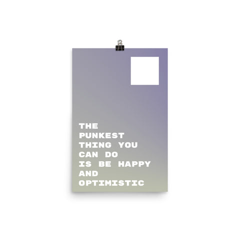 Poster Series I: Optimistic