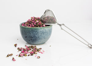 Heart Shaped - Mesh Stainless Steel Tea Strainer