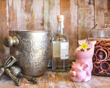 Load image into Gallery viewer, Pink Pig Bottoms Up Ceramic Cocktail Tiki Mug