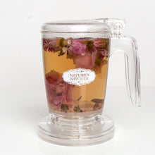 Load image into Gallery viewer, Tea Steeper/Infuser 15.2 oz Bottom-dispensing