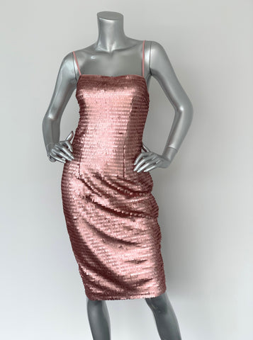 Forever New Rose Sequin Midi Dress