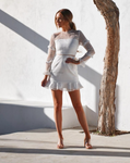 Two Sisters Parson White Dress
