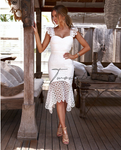 Two Sisters White Giselle Dress