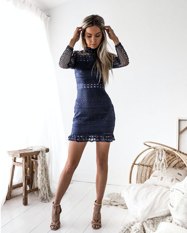 Two Sisters Navy Riverdale Dress
