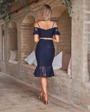Two Sisters Navy Janine Set
