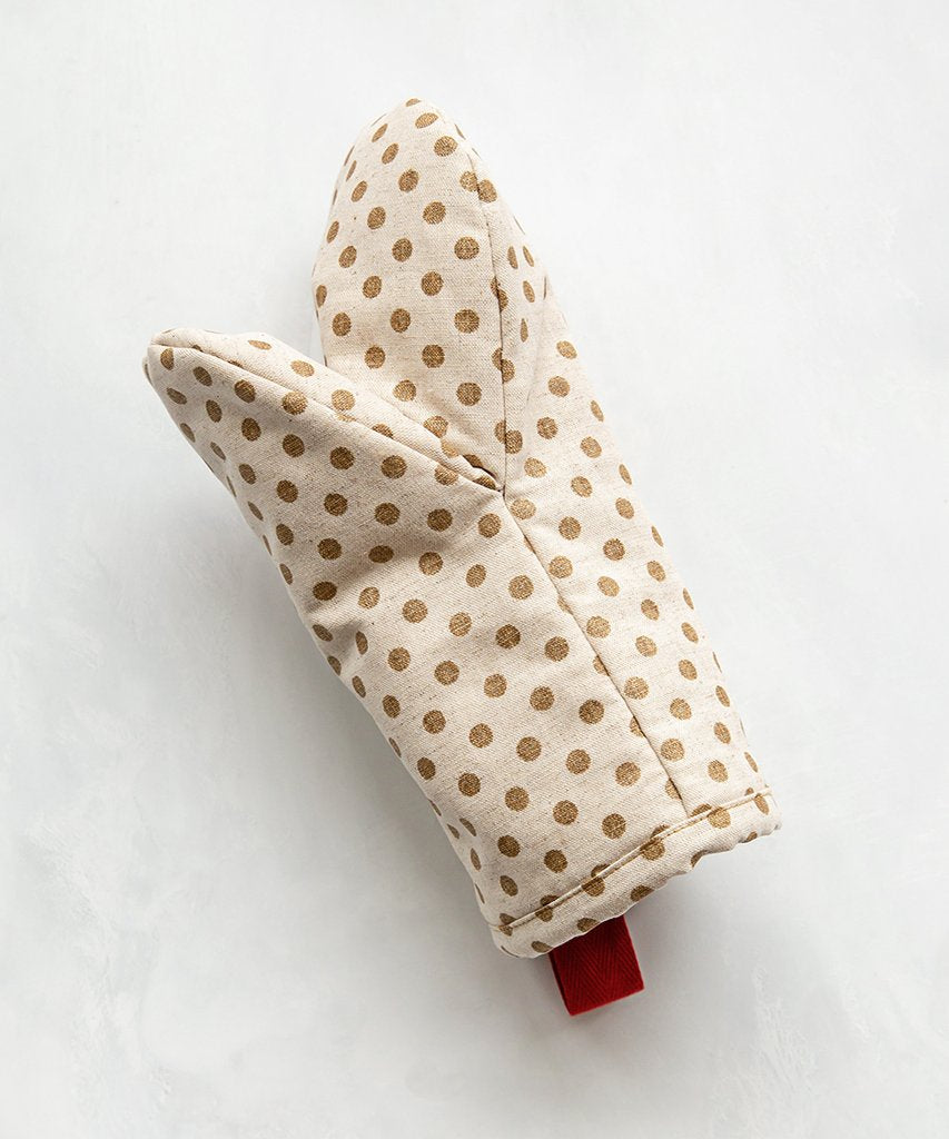 Loyale Studio Gold Dot Oven Mitt