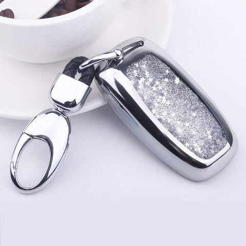 OEL DESIGN Audi Sparkling Quicksand Car Key Cover