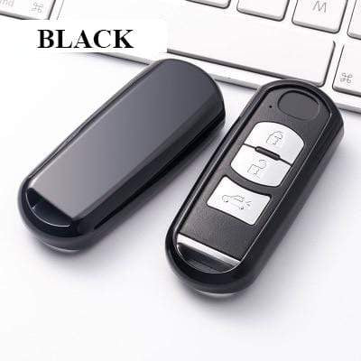 OEL DESIGN BLACK KEY COVER Mazda Car Key Cover