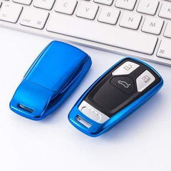 OEL DESIGN BLUE KEY COVER Audi Car Key Cover