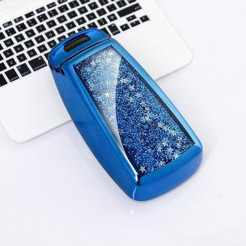 OEL DESIGN BLUE KEY COVER Audi Quicksand Cover Case