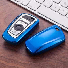 OEL DESIGN BLUE KEY COVER BMW Key Case Cover