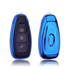 OEL DESIGN BLUE KEY COVER FORD C-MAX Car Key Cover
