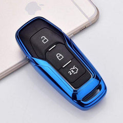 OEL DESIGN BLUE KEY COVER Ford Car Remote Key Cover