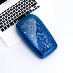 OEL DESIGN BLUE KEY COVER Toyota Quicksand Star Car Key Case