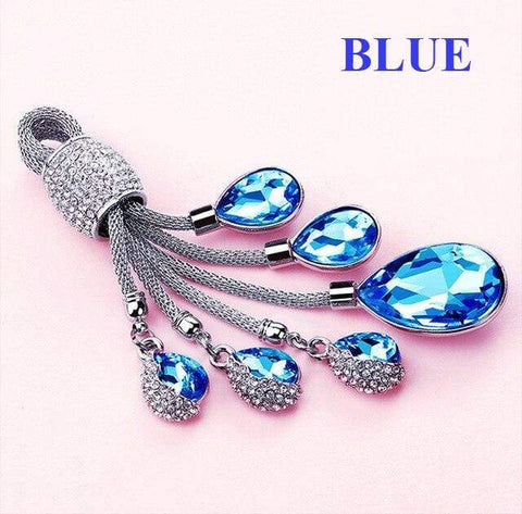 OEL DESIGN BLUE KEYRING ONLY Mercedes Benz TPU Car Key Case