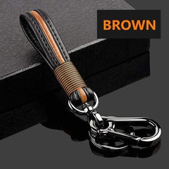 OEL DESIGN BROWN KEYCHAIN ONLY Ford Fiesta Focus Zinc Alloy Car Key Cover Case