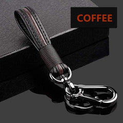 OEL DESIGN COFFEE KEYCHAIN ONLY Ford EcoSport Zinc Alloy Car Key Case Cover