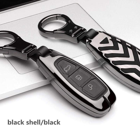 OEL DESIGN Ford Fiesta Focus Zinc Alloy Car Key Cover Case