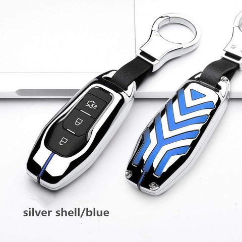 OEL DESIGN Ford Fiesta Zinc alloy Car Remote Key Cover Case
