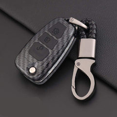OEL DESIGN Ford Ranger Carbon Fiber Key Case Cover Key Protector