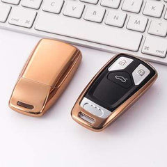 OEL DESIGN GOLD KEY COVER Audi Car Key Cover