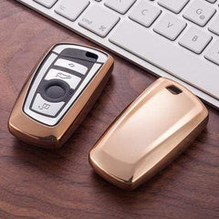 OEL DESIGN GOLD KEY COVER BMW Key Case Cover