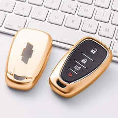 OEL DESIGN GOLD KEY COVER Chevrolet Key Cover