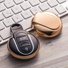 OEL DESIGN GOLD KEY COVER MINI COOPER Key Cover