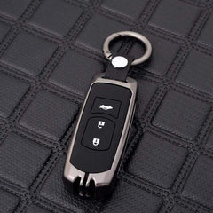 OEL DESIGN GUN KEYCHAIN Mazda Zinc Alloy Silica Gel Car Remote Key Case Cover